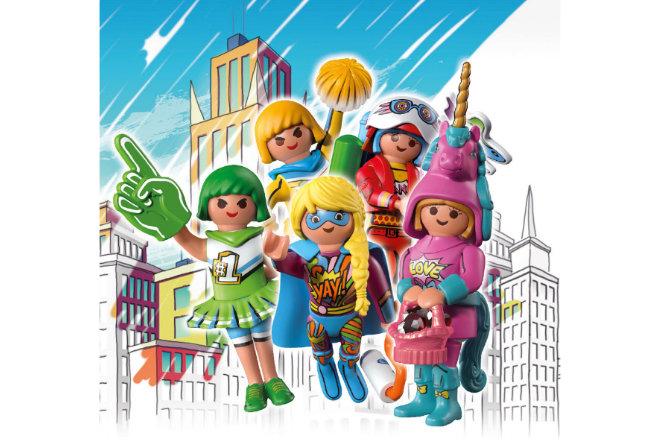 Die fünf Hauptcharaktere erleben Abenteuer in Edwinas bunter Comicwelt. Weitere Figuren sind in Überraschungsboxen erhältlich.