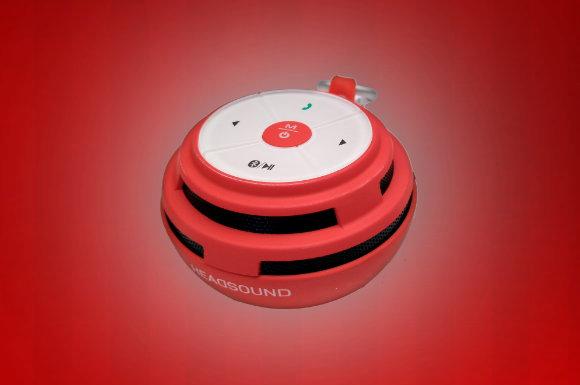 Wir verlosen hinter dem 2. Türchen unseres Adventskalender Gewinnspiels 3 Bluetooth Lautsprecher Headsound ball (andere Farben als auf dem Bild möglich).