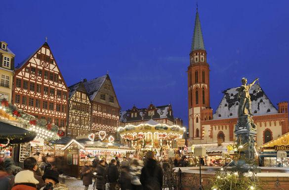 Der Frankfurter Weihnachtsmarkt gehört zu den bedeutendsten und schönsten in Deutschland.