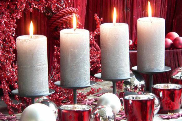 Kerzentrends f r die advents und weihnachtszeit 2014 - Verspiegelte deko ...