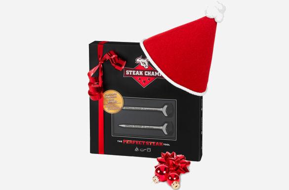 steakchamp die geschenkidee zu weihnachten advents. Black Bedroom Furniture Sets. Home Design Ideas